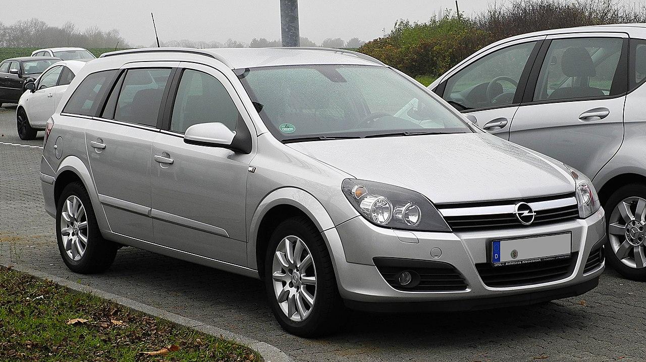 File:Opel Astra Caravan 1.7 CDTI Elegance (H) – Frontansicht, 13. November 2011, Heiligenhaus ...