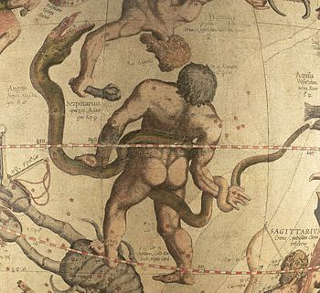 Ophiucus and Serpens constellations from the M...