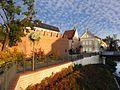 Opole - mury przy Katedrze Świętego Krzyża.jpg