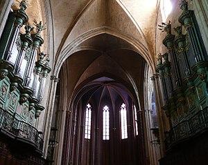 Jean-Esprit Isnard - Image: Orgue d'Aix en Provence,cathédrale St Sauveur,les 2 façades