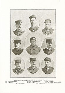 The original brigade of Engine Company No. 7