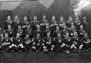 Rugby union in New Zealand - The 1905 All Blacks, named The Originals.