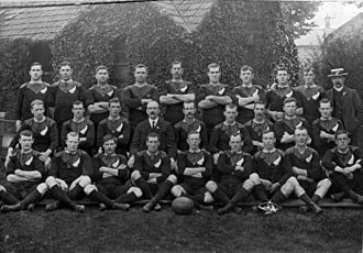 The Original All Blacks that toured the British Isles, France and the United States during 1905-06. The team won 34 of their 35 tour matches. Original allblacks.jpg