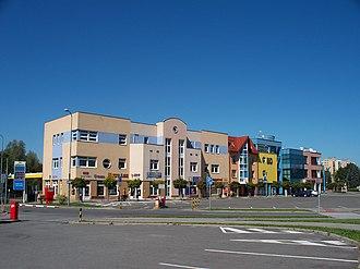 Orlová - Downtown Orlová-Lutyně