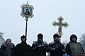Orthodox priests saying offices during Euromaidan Protests, events of Jan 21, 2014.jpg