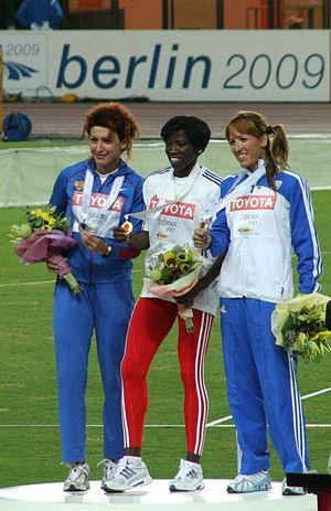 Hrysopiyi Devetzi - Piyi Devetzi originally third in Osaka, 2007