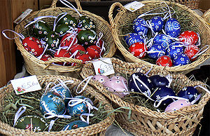 Easter eggs from Vienna, Austria