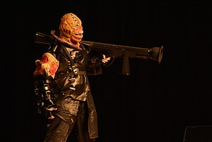 Nemesis (Resident Evil) - Cosplay Nemesis in 2006.