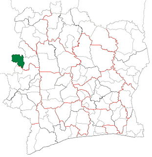 Ouaninou Department Department in Woroba, Ivory Coast