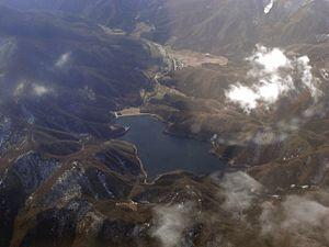 Ōuchi-juku - Image: Ouchi Dam M