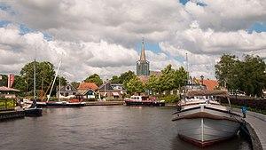 Oudega, Súdwest-Fryslân - Image: Oudega