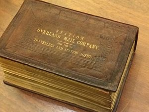 Pony Express Bible - Overland Mail Company Bible