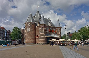 Nieuwmarkt - The Waag in 2002