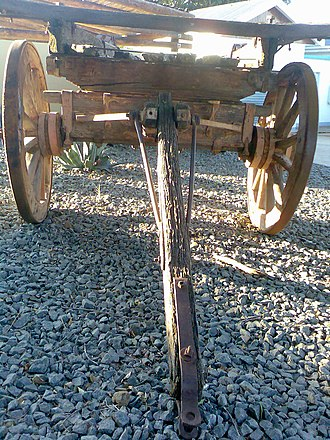 Ox-wagon - Ox-wagon front assembly.