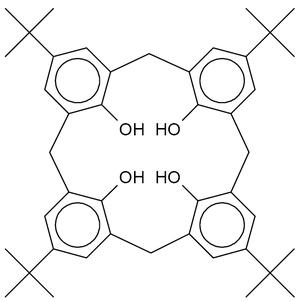 Calixarene - Image: P tert butylcalix 4 arene