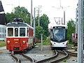 P1190984 16.06.2017 Attergaubahn Bahnhof St Georgen ET 26 111 Wagen 124.jpg