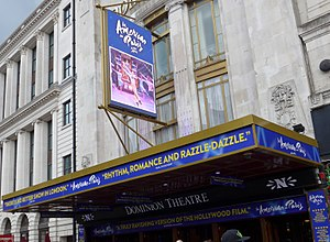 An American in Paris (musical) - An American in Paris on new double-sided LED screen of the Dominion Theatre