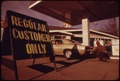 PRIOR TO OREGON'S REGULATION OF GASOLINE STATION FUEL SALES SOME DEALERS ATTEMPTED TO SELL ONLY TO THEIR REGULAR... - NARA - 555467.tif