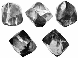 Eagle Diamond - Five views of the Eagle Diamond