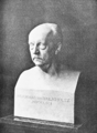 PSM V71 D291 Bust of hermann helmholtz at the age of seventy in 1891.png