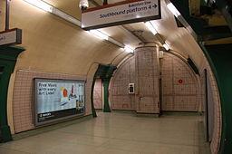 Paddington tube station northbound soutbound platforms