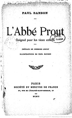Image illustrative de l'article L'Abbé Prout