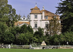 Oeiras, Portugal - The manorhouse of the Marquess of Pombal Sebastião José de Carvalho e Melo