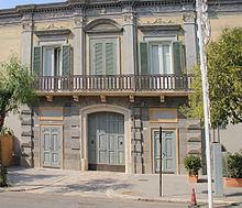 Il Palazzo Margherita, proprietà di Francis Ford Coppola
