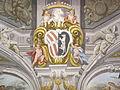 Palazzo corsini, doppio stemma corsini altoviti.JPG