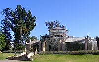 Palm house, Adelaide Botanic Gardens - oblique.JPG
