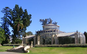 Adelaide Botanic Garden - The garden's 1877 tropical palm house