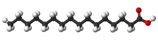 palmitic acid molecular structure