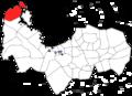 Pangasinan Locator map-Bolinao.png