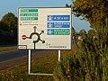 Panneau D42b (France) à Saintes (Charente-Maritime).JPG