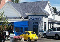 Pano S Restaurant At 1081 Elmwood Avenue In Buffalo New York