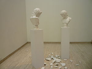 Giulio Paolini - L'Altra Figura (1984) in the Art Gallery of New South Wales