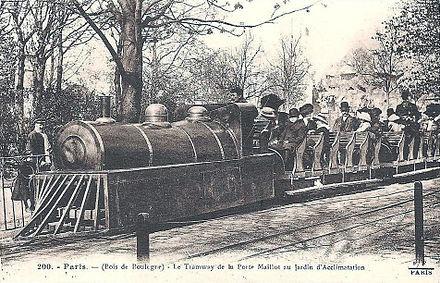 Minimum gauge railway wikivisually for Au jardin d acclimatation