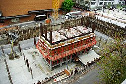 Park Avenue West Tower pit - Portland, Oregon.JPG