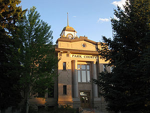 Park County, Wyoming - Image: Park county wyoming courthouse