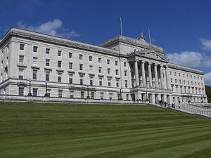 Northern Ireland Office - Image: Parliament Buildings Stormont