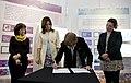 Parodi y Daura inauguraron exposiciones sobre la moneda argentina en el CCK (21876986031).jpg