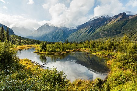 Eagle River Park, Anchorage, Alaska, United States