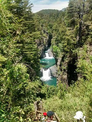 Radal Siete Tazas National Park - The Seven Cups
