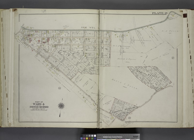 File:Part of Ward 4. (Map bound by Richmond Road, Grand St, Clarke Ave, Amboy Road, Tysens St, Center St) NYPL1646288.tiff