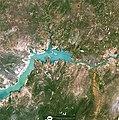 Parte do Reservatório de Sobradinho (barragem - dam), no Rio São Francisco, Remanso-BA (outra imagem 2) (35496927144).jpg