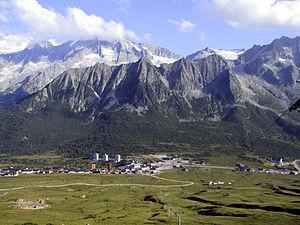 Province of Brescia - Tonale Pass in summer.