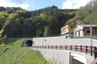 Passo del Turchino - New road tunnel