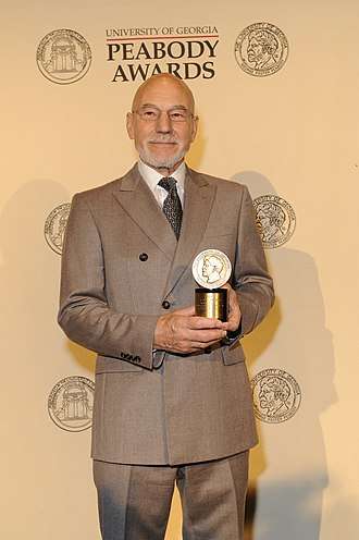 Macbeth (2010 film) - Patrick Stewart at the 71st Annual Peabody Awards