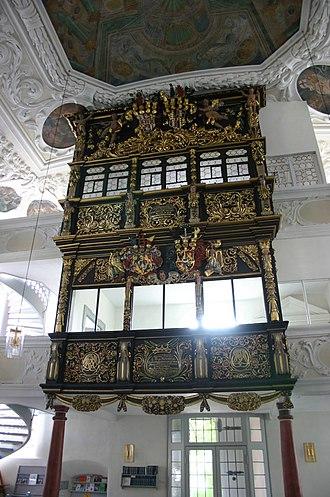 Thurnau - Inside the Church of Thurnau