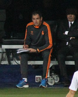 Clement in 2013 bij Real Madrid